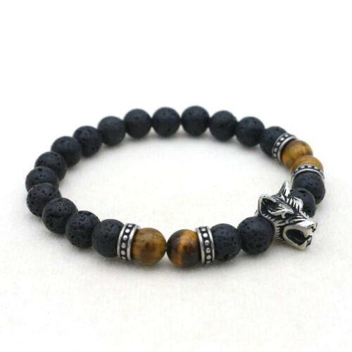 Beaded Wolf Bracelet