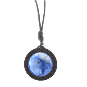Charm Ice Wolf Necklace