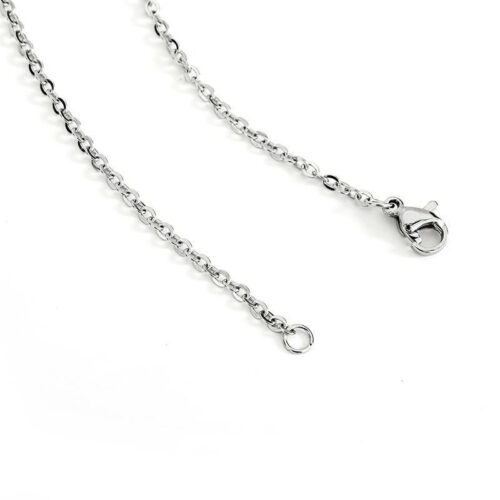 Double Sided Military Wolf Necklace