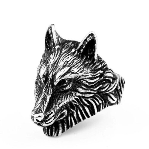 Guardian Wolf Ring