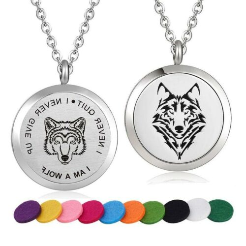 I Am A Wolf Necklace