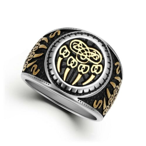The Claw Wolf Ring