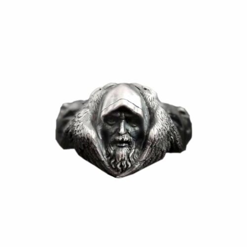 Wolf Ring Viking priest Seer
