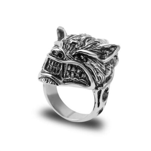 wolf ring angry werewolf