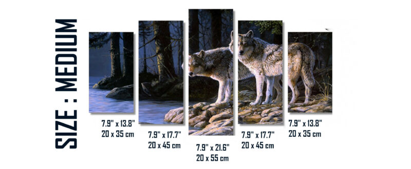Sizes guide canvas