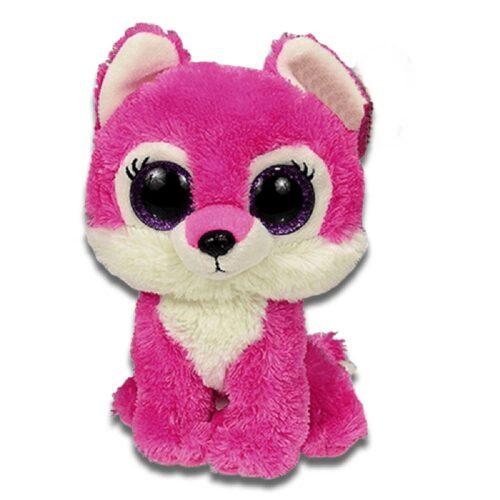 Pink Wolf Plush