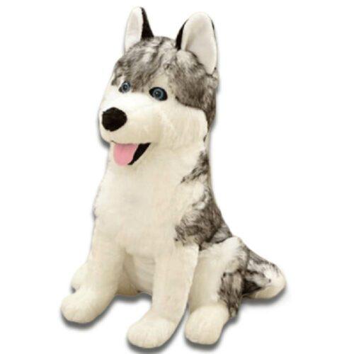 Blue-Eyed Wolf Plush