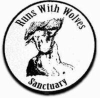 run with wolves sanctuary logo