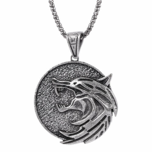The witcher school of the wolf necklace