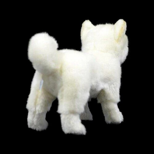 White Wolf Plush