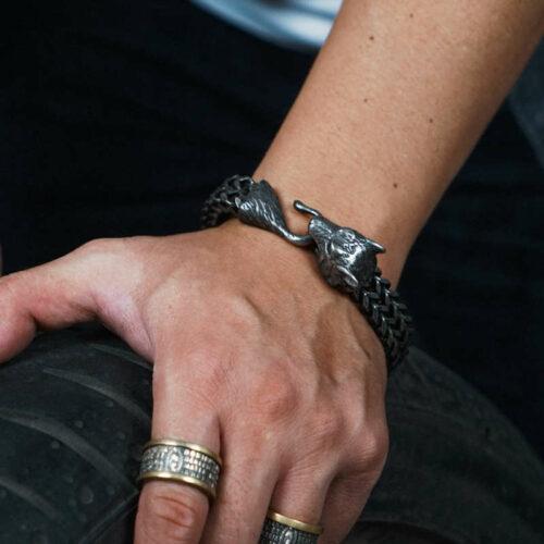 Wolf Bracelet <br>Alpha Wolf