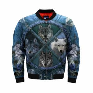 wolf bomber jacket blue arrow 4 wolf species