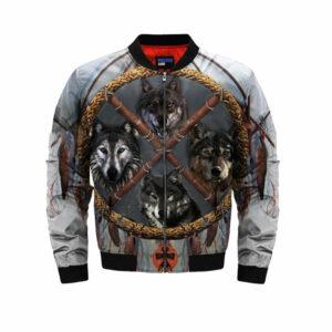 wolf bomber jacket distrikt