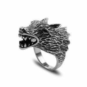Wolf Ring Crazy Wolf