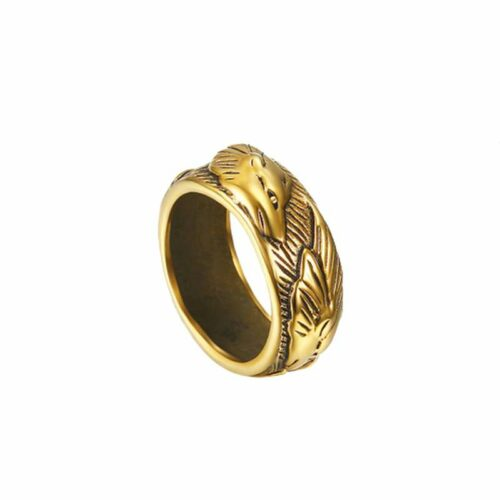wolf ring lone wolf gold