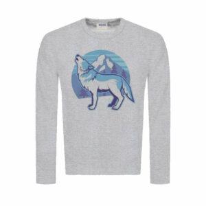 Arctic Wolf Sweatshirt gray